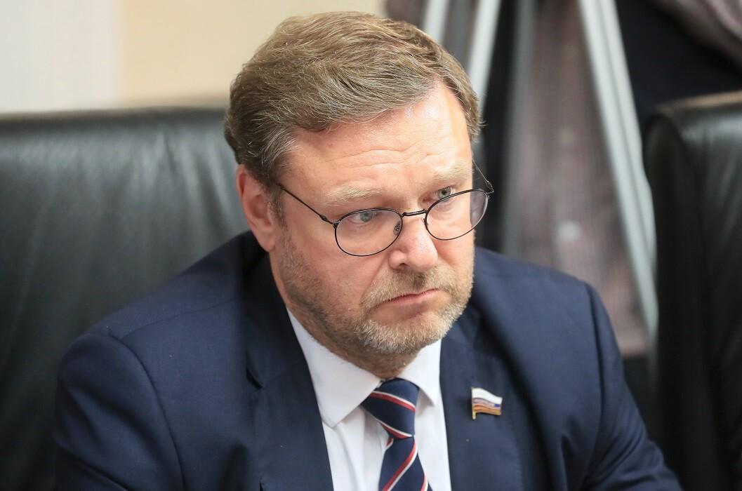 رئيس لجنة العلاقات الدولية في مجلس الاتحاد الروسي، قسطنطين كوساتشوف