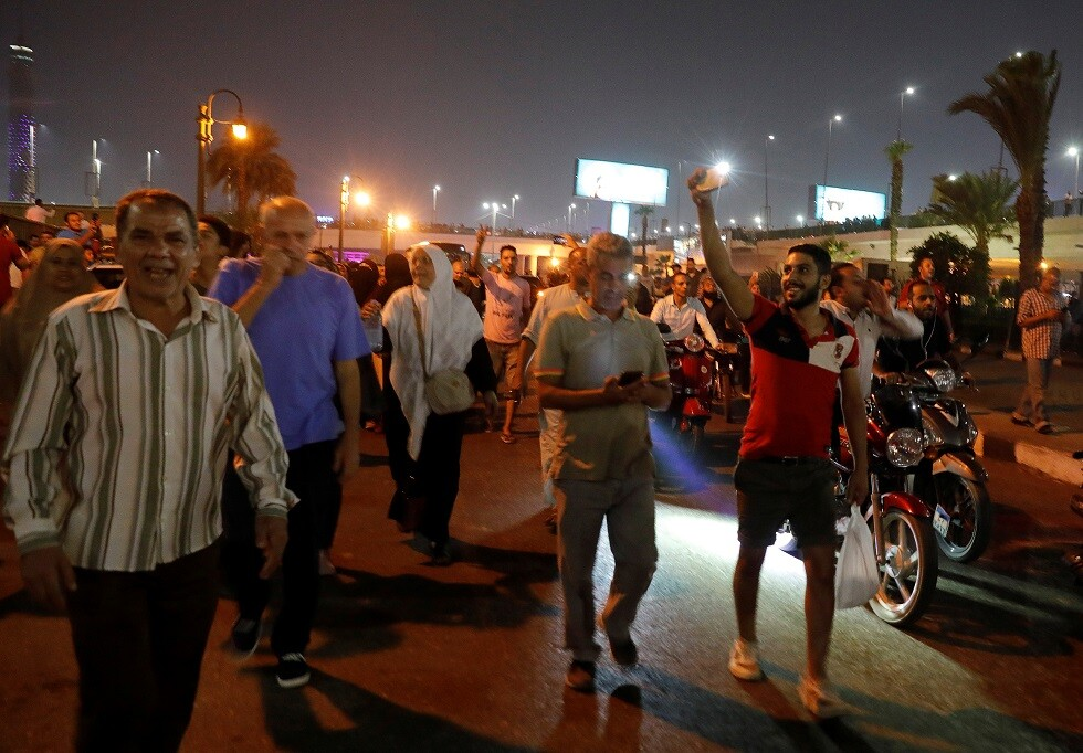 أ ف ب: مظاهرات في السويس مناهضة للسلطات المصرية