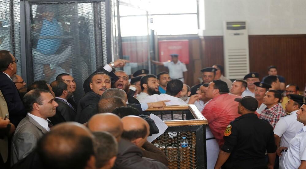 جانب من محاكمات الإخوان المسلمين