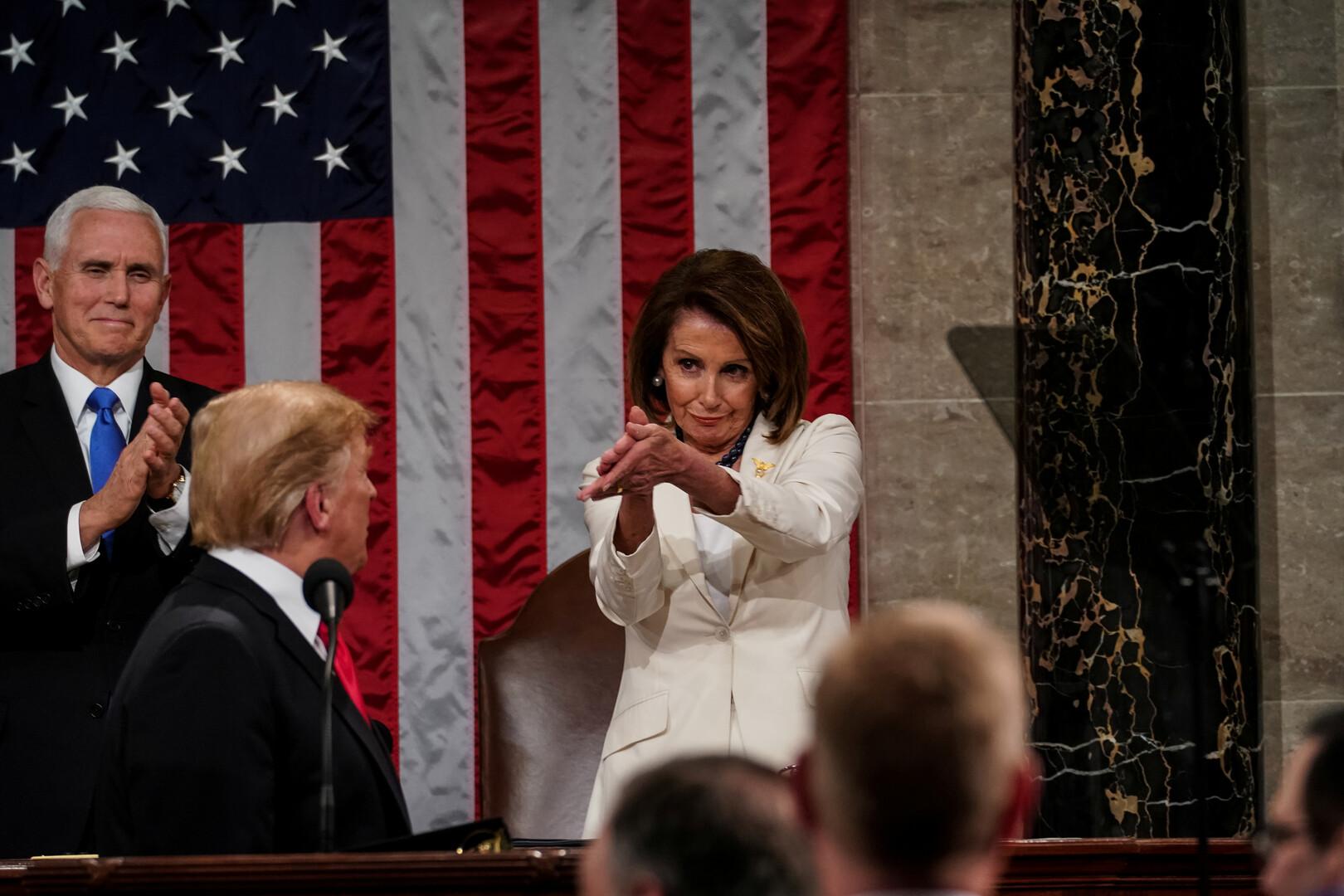 بيلوسي تحذر ترامب من قصف إيران مستشهدة بقضية خاشقجي