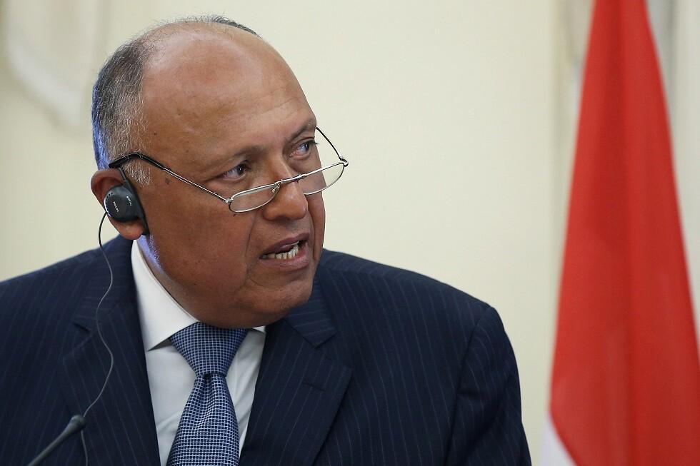 وزير الخارجية المصري يعلق على