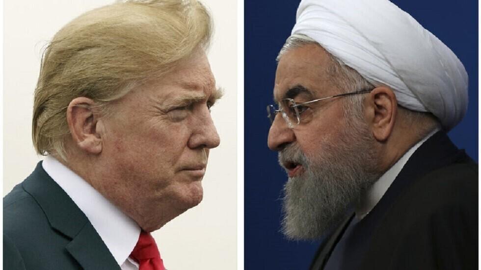 الرئيس الإيراني، حسن روحاني، ونظيره الأمريكي، دونالد ترامب