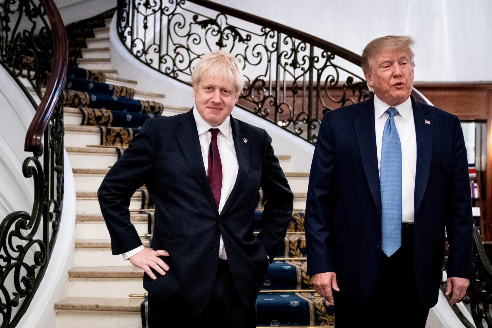 اتفاق تجاري أمريكي بريطاني بحلول يوليو