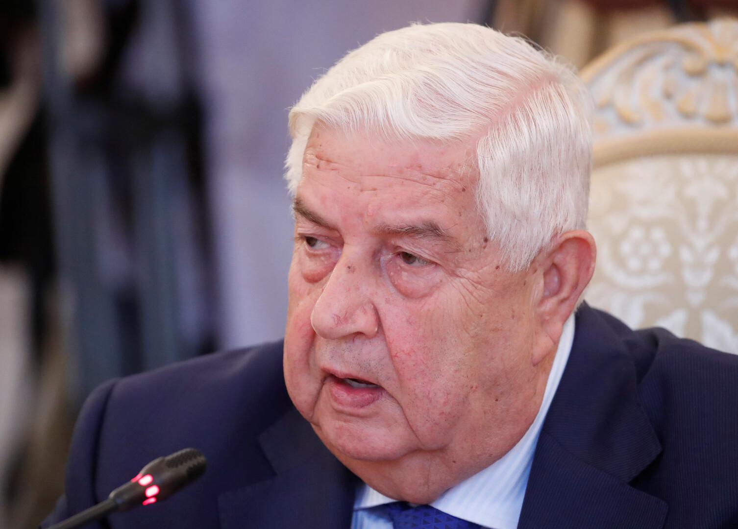 دمشق تؤكد التزامها بالعملية السياسية واستعدادها مواصلة التعاون مع المبعوث الأممي