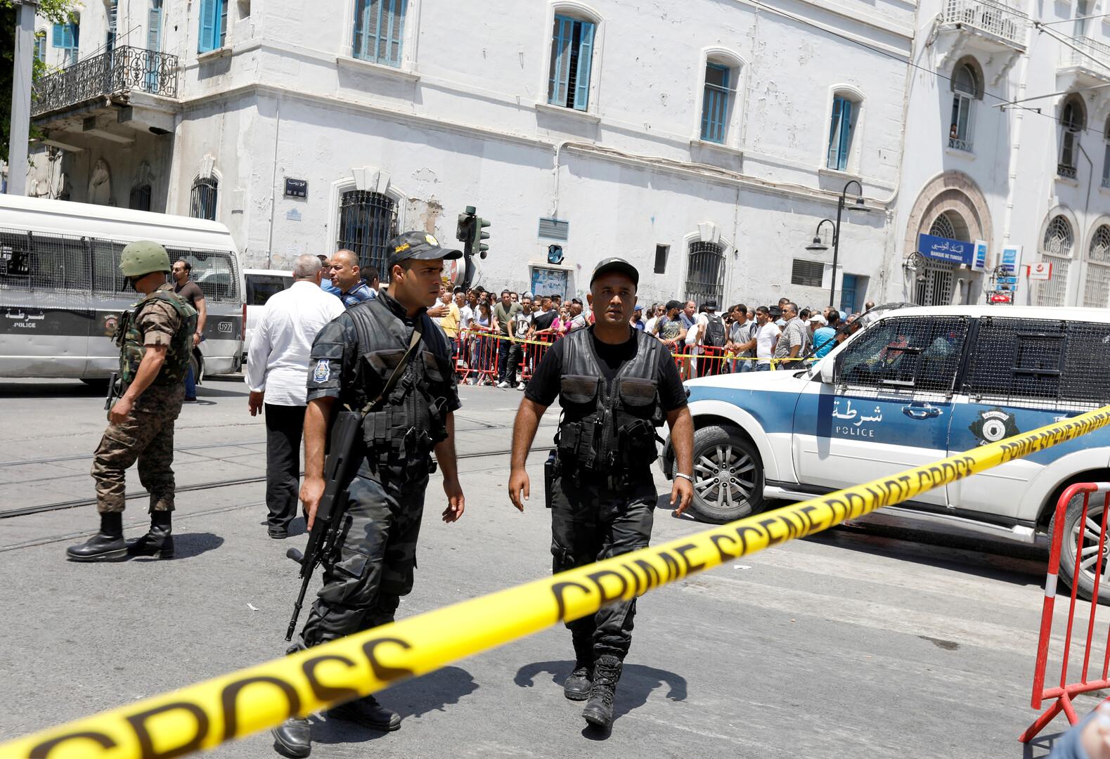 مقتل رجل أمن تونسي والاعتداء على عسكري بعد عملية طعن