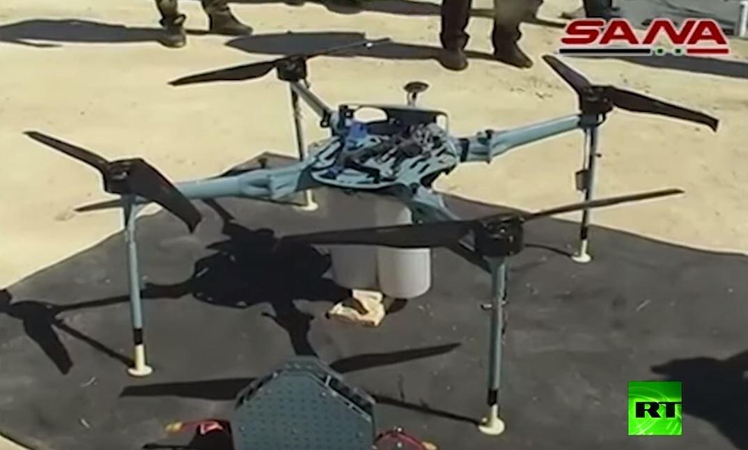 الجيش السوري يكشف عن طائرة مسيرة أسقطها في ريف القنيطرة