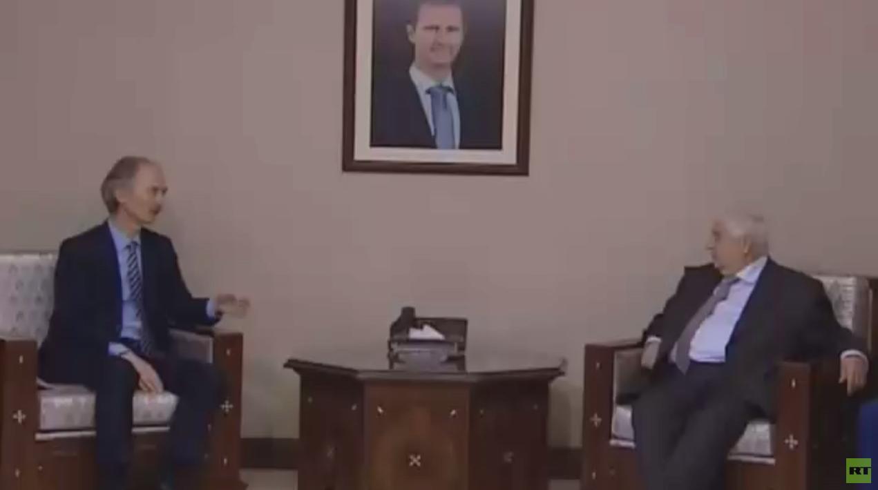 بيدرسون: مباحثاتي في دمشق ناجحة جدا