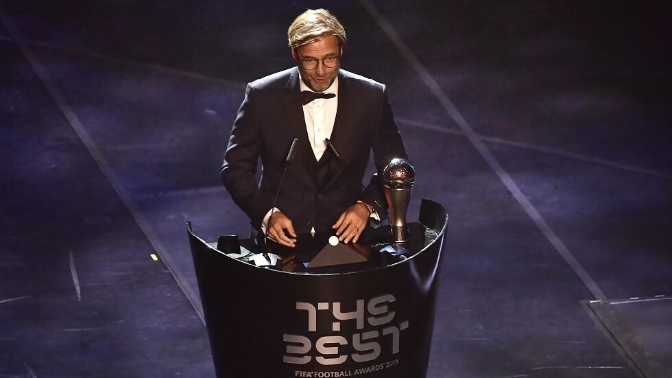 الألماني يورغن كلوب يتوج بجائزة أفضل مدرب لعام 2019