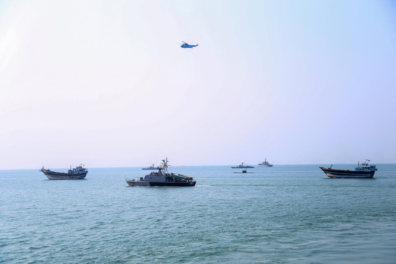 إيران تعلن عن مناورات عسكرية بحرية مع روسيا والصين يوم 27 ديسمبر