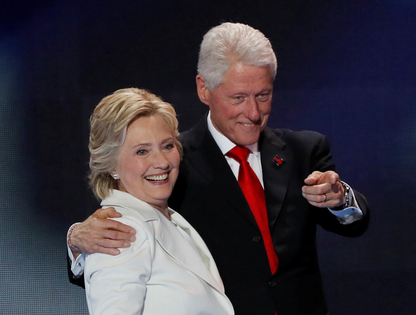بيل وهيلاري كلينتون