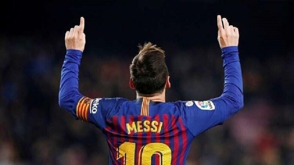 ميسي يقود هجوم برشلونة أمام
