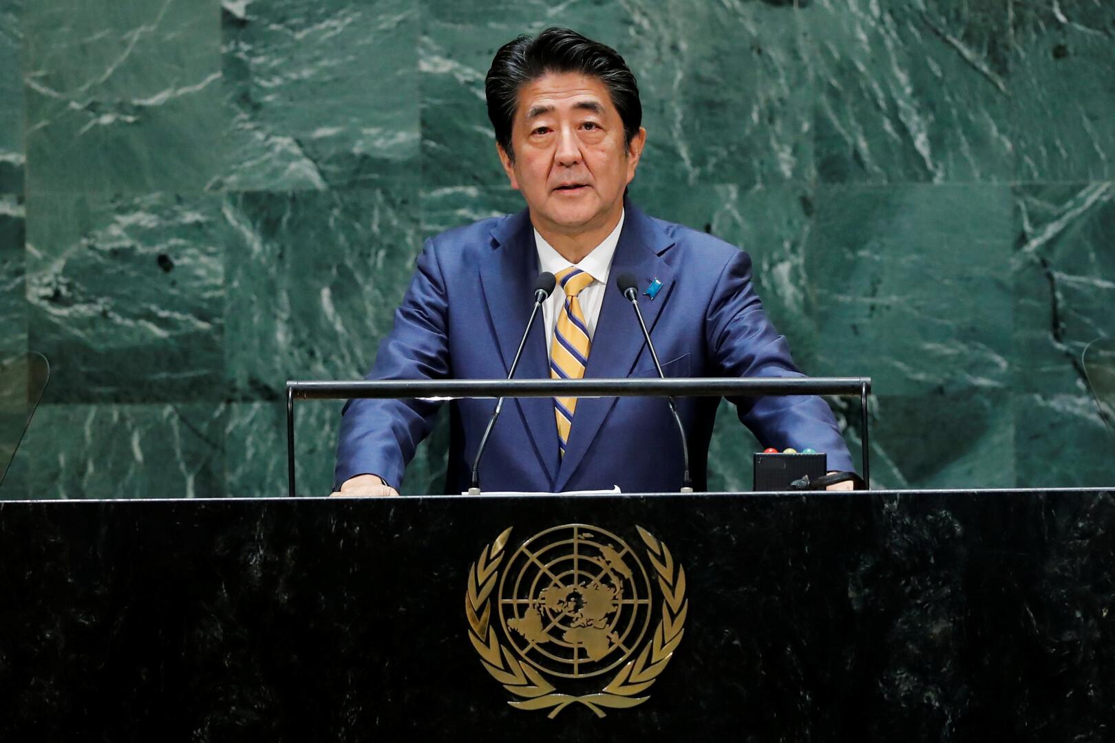 رئيس وزراء اليابان شينزو آبي