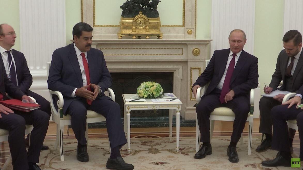 بوتين: ندعم السلطات الشرعية في فنزويلا