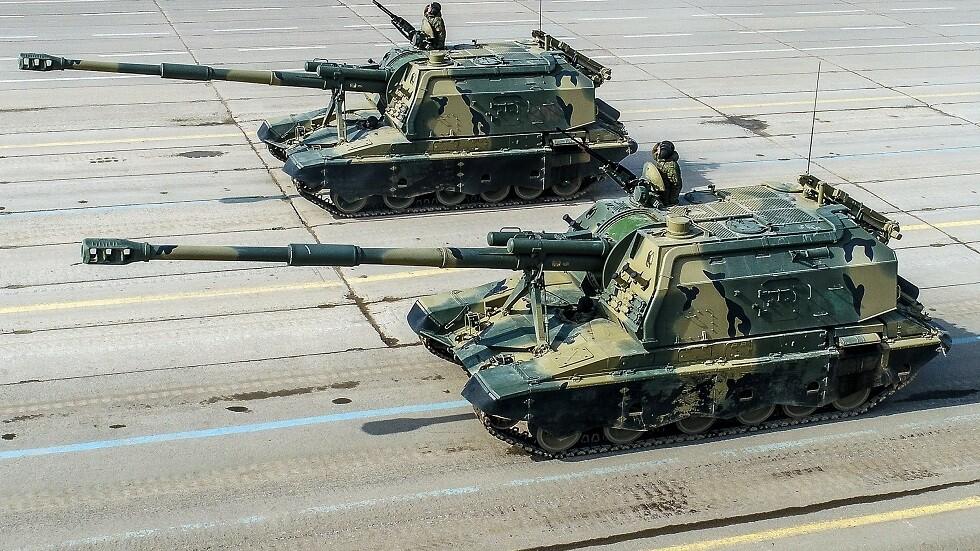 مدفع روسي يدمر دبابات على مدى 20 كيلومترا