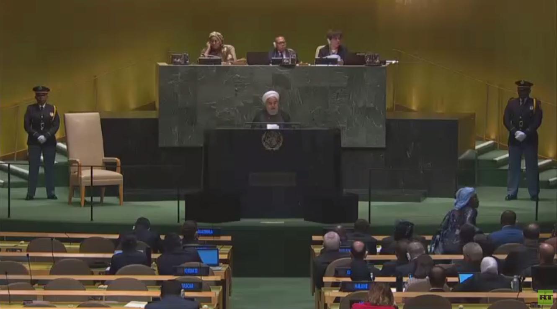 روحاني يعلن عن مبادرة لحفظ أمن مضيق هرمز