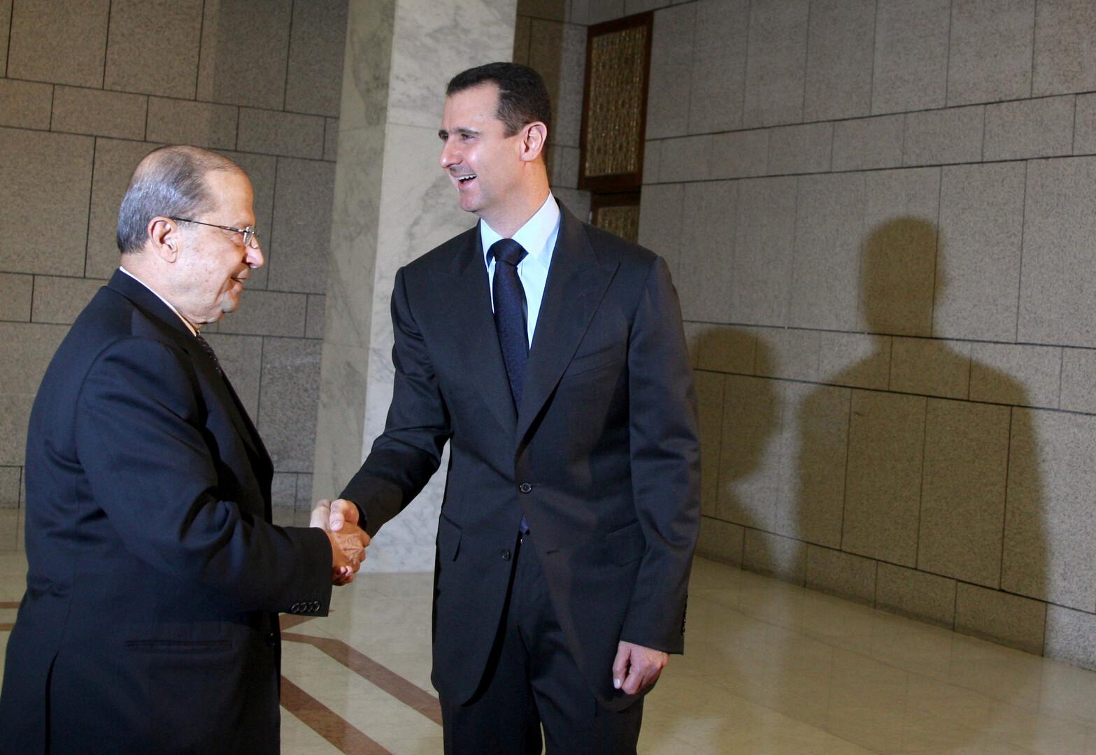 باسيل يعلن عن زيارة مرتقبة له إلى دمشق