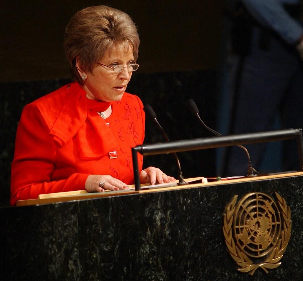رئيسة مجلس الاتحاد الروسي فالنتينا ماتفيينكو