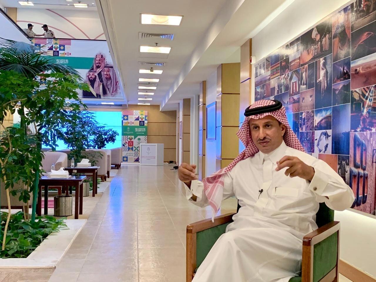 رئيس مجلس إدارة الهيئة العامة للسياحة والتراث السعودي أحمد بن عقيل الخطيب