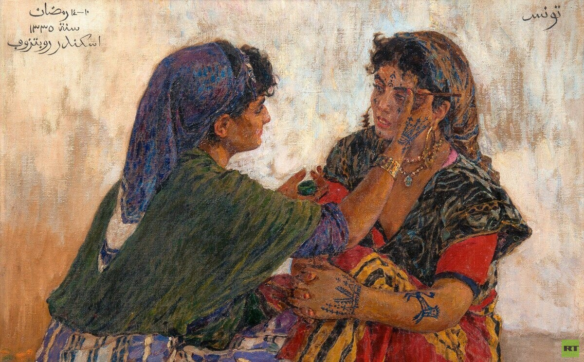 ألكسندر روبتسوف - فنان تونس الروسي