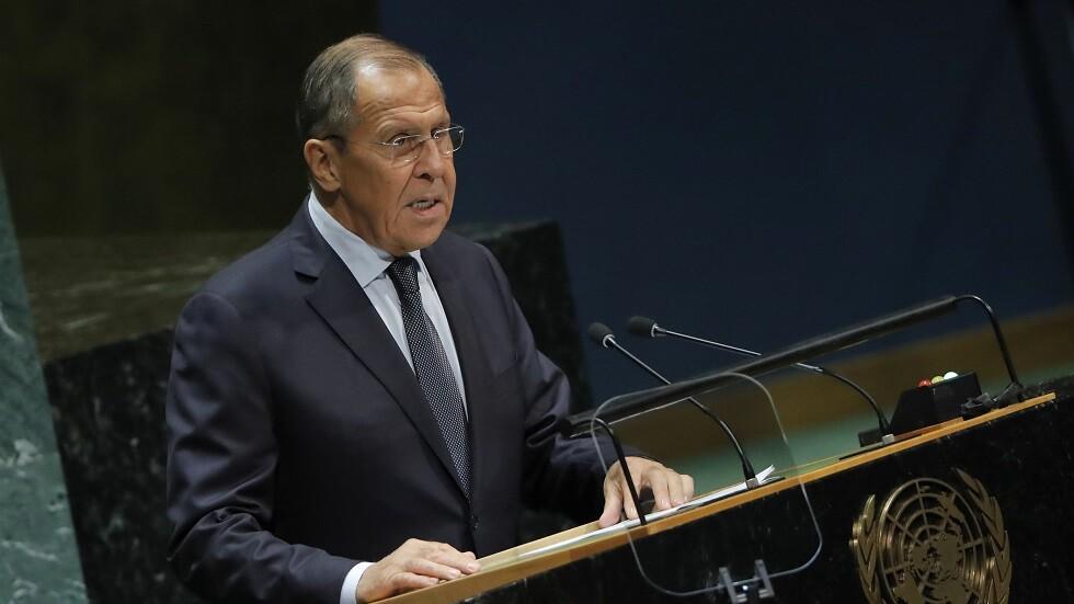أهم ما جاء في كلمة سيرغي لافروف أمام الجمعية العامة للأمم المتحدة