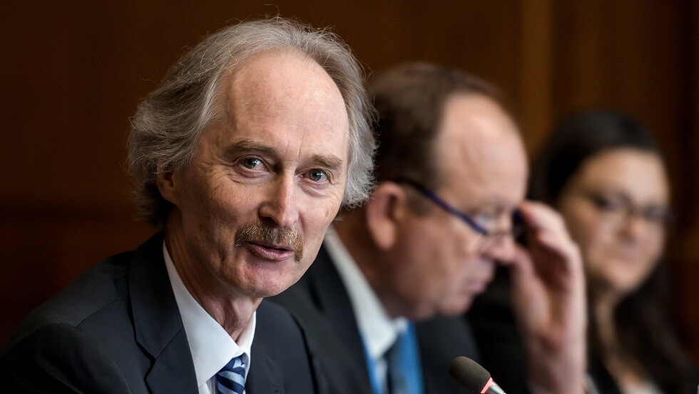 بيدرسن يدعو اللجنة الدستورية السورية إلى بدء اجتماعاتها في جنيف في 30 أكتوبر