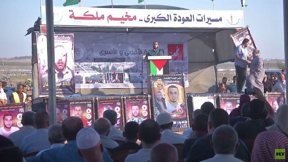 قتيل وعشرات الجرحى بمسيرات العودة بغزة