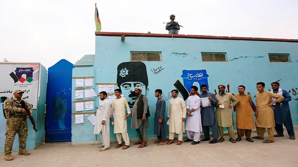 انقطاع الاتصال بنحو 900 مركز اقتراع في أفغانستان وسط مشاكل فنية وأمنية