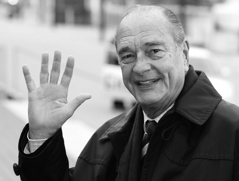 الرئيس الفرنسي الأسبق، الراحل جاك شيراك