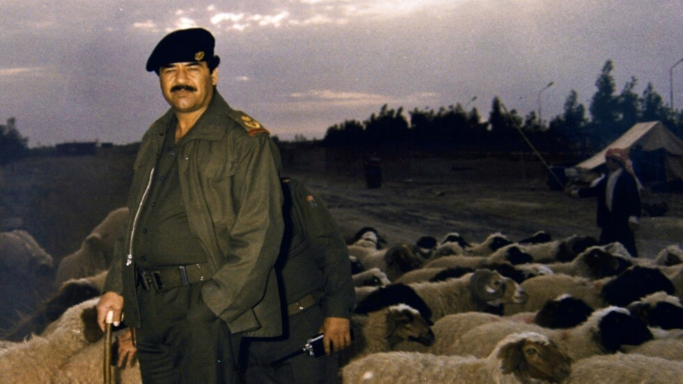 الرئيس العراقي السابق صدام حسين - أرشيف