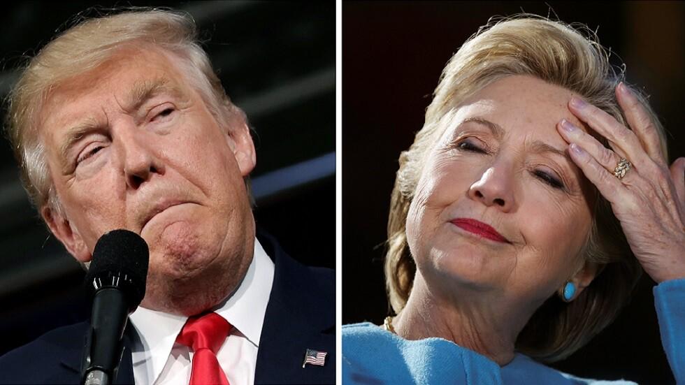 ترامب يشن هجوما مضادا على الديمقراطيين من باب هيلاري كلينتون