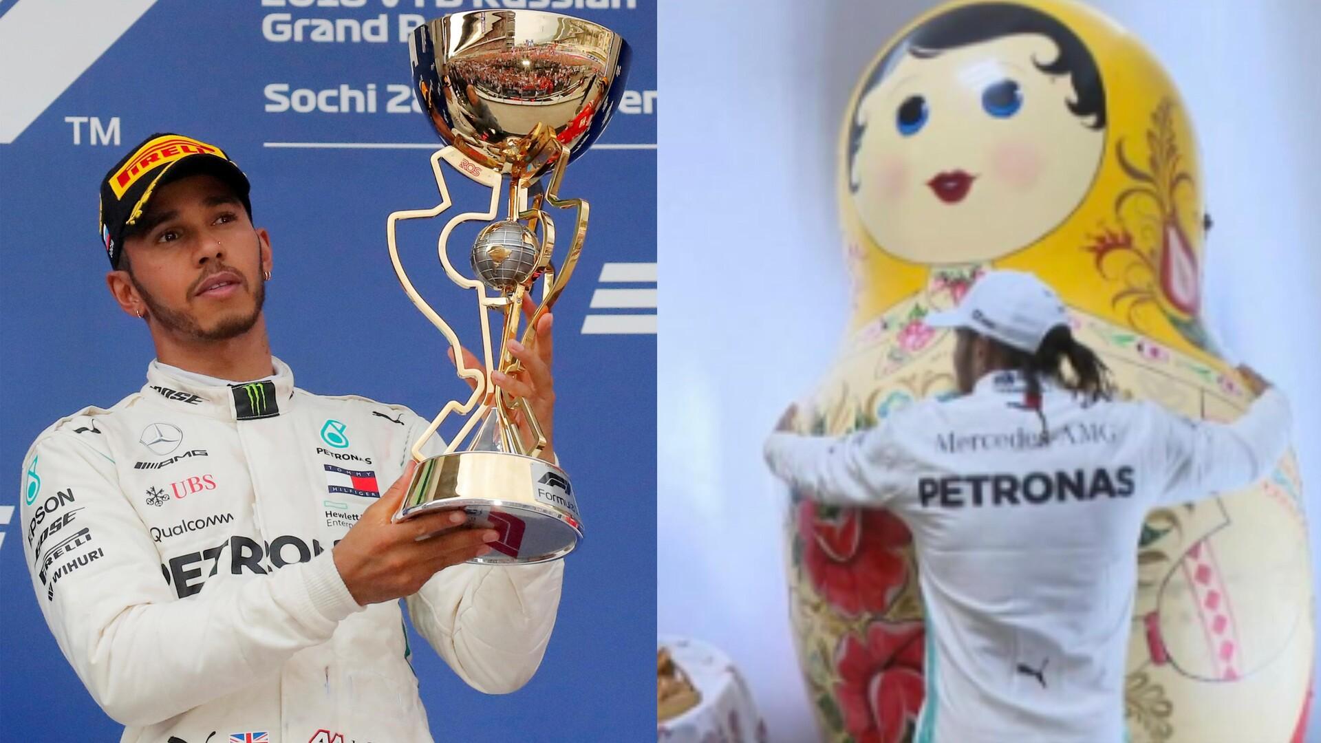 هاميلتون يتوج بسباق جائزة روسيا الكبرى وينهي سلسلة انتصارات فيراري