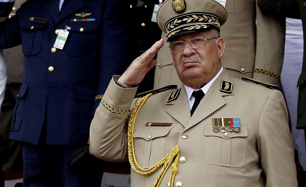 قائد أركان الجيش الجزائري أحمد قايد صالح