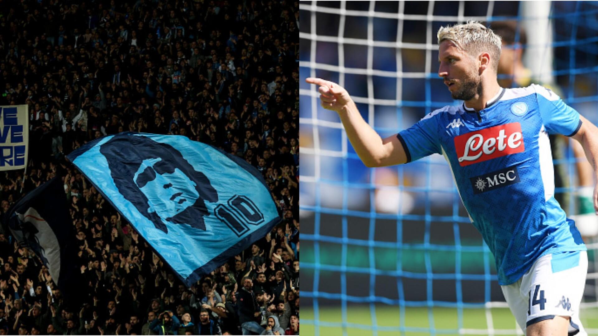 ميرتينز يعادل رقم مارادونا في قائمة هدافي نابولي التاريخية