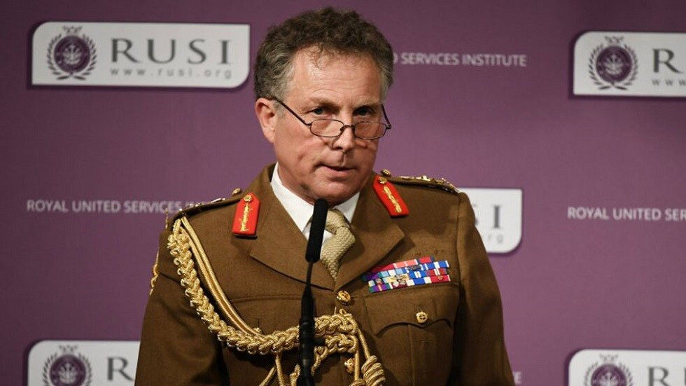 رئيس الأركان البريطاني الجنرال نيكولاس كارتر