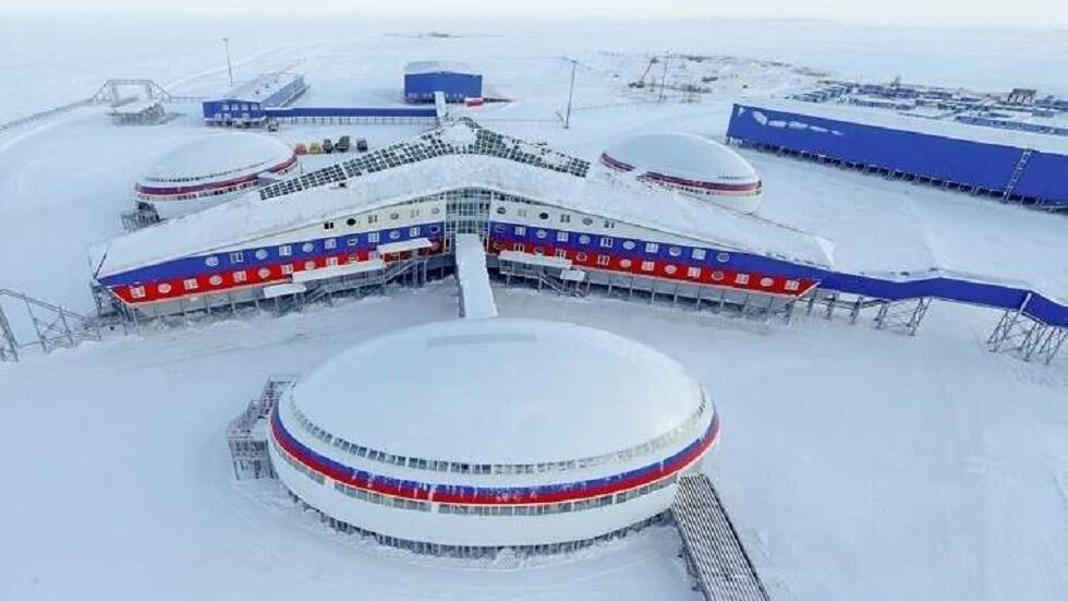 قاعدة عسكرية روسية في القطب الشمالي (صورة أرشيفية)