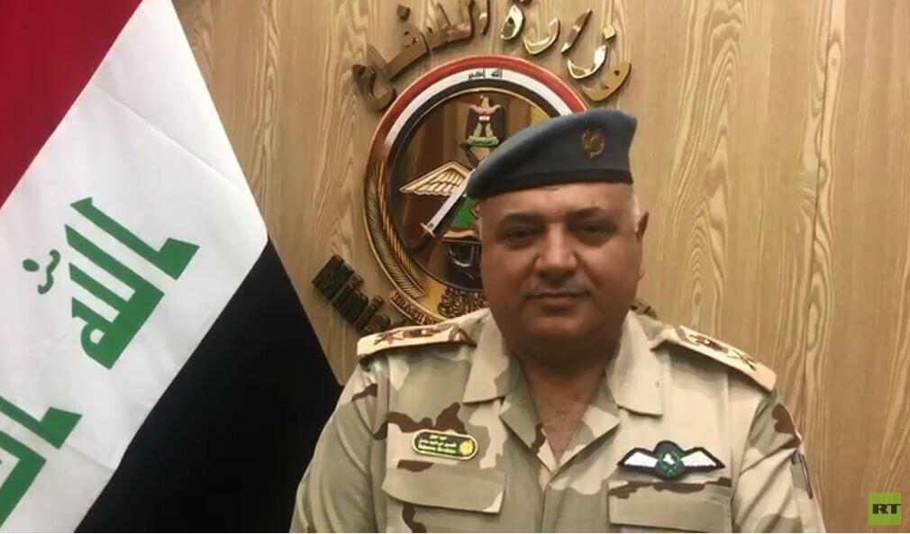 المتحدث باسم وزارة الدفاع العراقية، اللواء تحسين الخفاجي