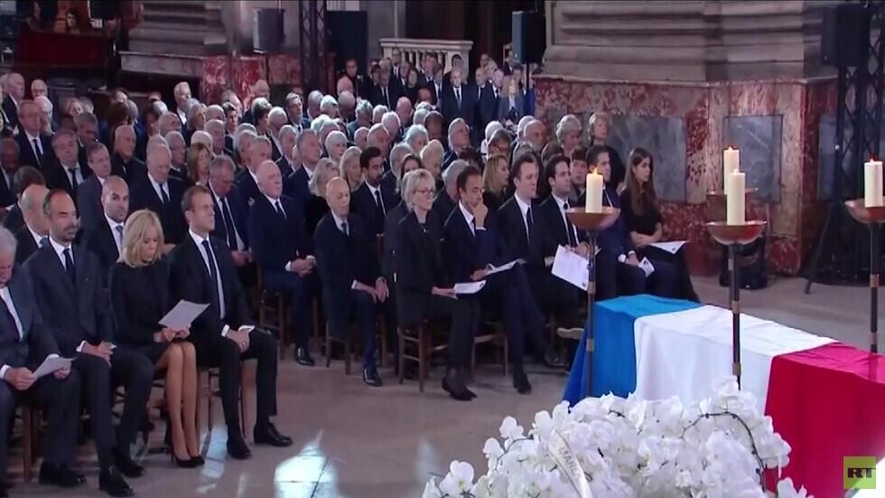تشييع جثمان الرئيس الفرنسي جاك شيراك