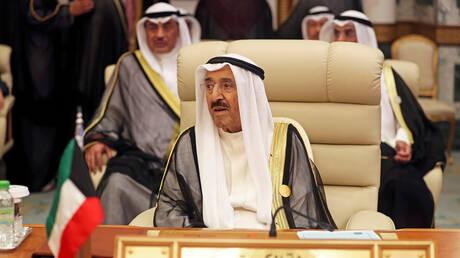رئيس مجلس الأمة الكويتي يودع أمير البلاد في أمريكا