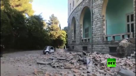 ألبانيا.. أقوى زلزال يضرب العاصمة تيرانا منذ 30 عاما