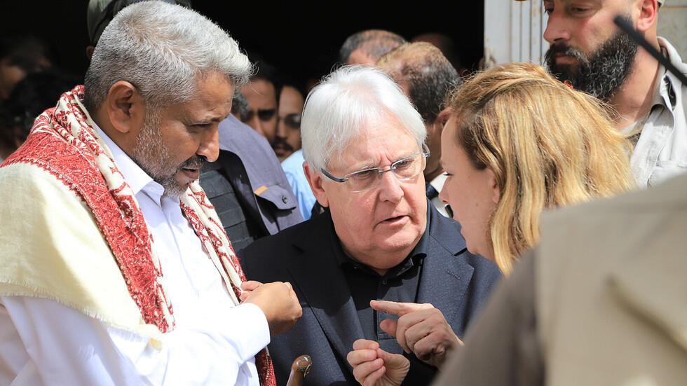 المبعوث الأممي إلى اليمن يلتقي وفد الحوثيين في سلطنة عمان