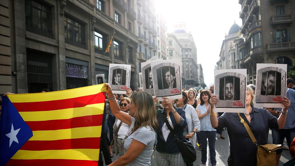 نتيجة بحث الصور عن إسبانيا.. أحكام بالسجن لـ9 من قياديي انفصال كتالونيا