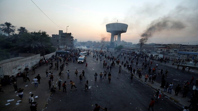 سفارة واشنطن في بغداد تصدر بيانا على خلفية المظاهرات