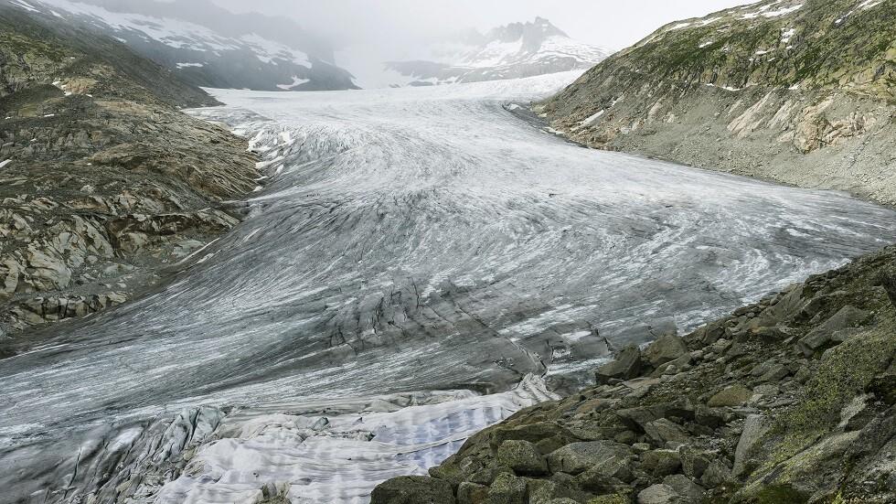ذوبان جليد الجبال