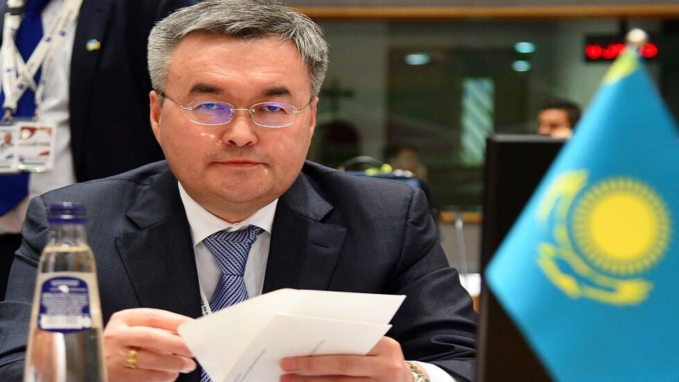 وزير خارجية كازاخستان مختار تلاوبردي