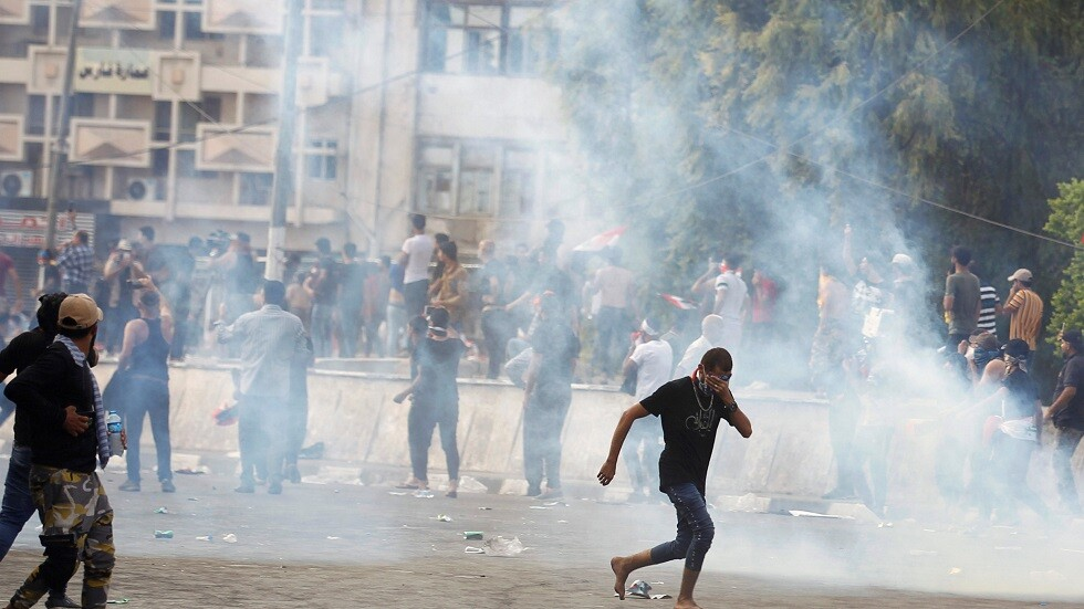 مقتل شخصين خلال احتجاجات في العراق