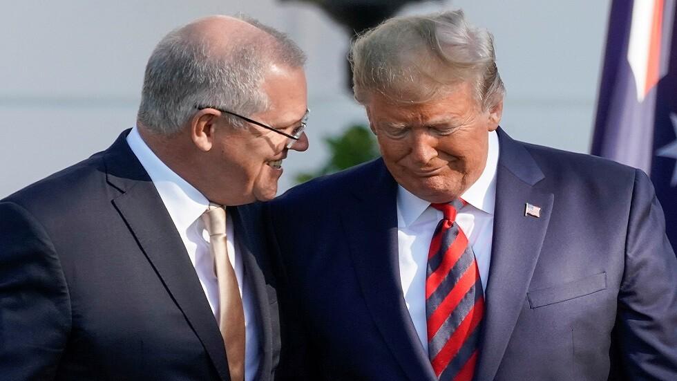 المعارضة الأسترالية تطالب بنشر محضر مكالمة ترامب وموريسون