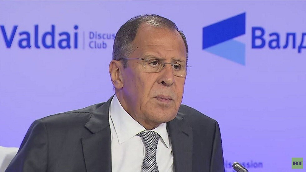لافروف: لمسنا بارقة تفكير سليم في اتصالاتنا مع الغرب حول سوريا