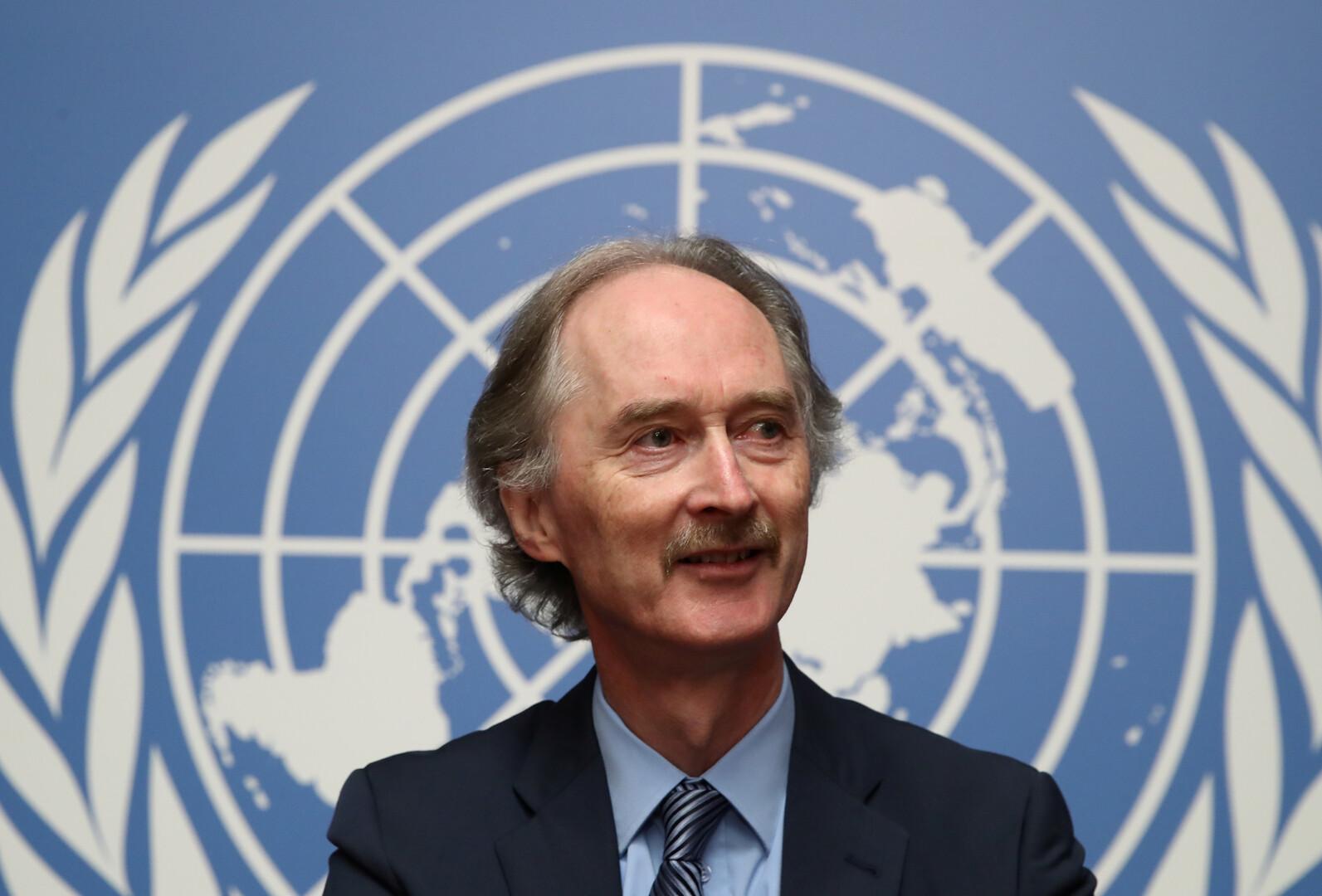 غير بيدرسن الموفد الأممي إلى سوريا