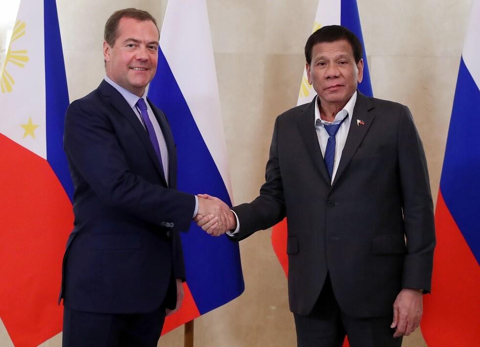 دوتيرتي: الفلبين ترغب بتعزيز علاقاتها مع روسيا