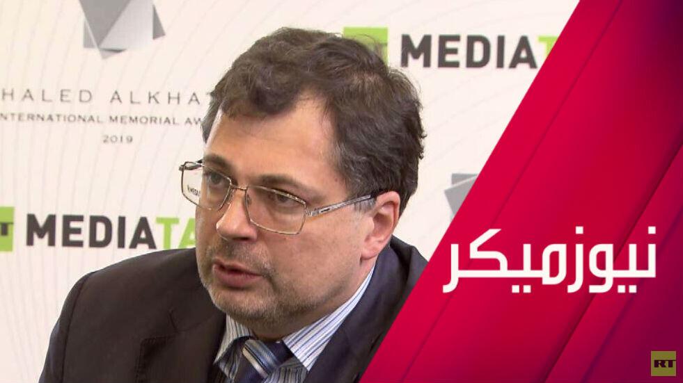 خالد الخطيب.. الصحافة في مناطق النزاع